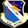 The 53rd Wing, headquarted at Eglin Air Force Base, is responsible for testing every bomber, fighter, unmanned vehicle, and weapon system in the Air Force's inventory.