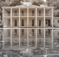 Wesley House in the Eden Gardens State Park in Point Washington, Florida, houses Ms. Lois Maxon's extensive, historic collection.