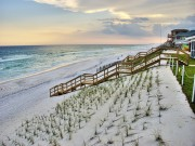 Walk right down to the water in Santa Rosa Beach, Florida.